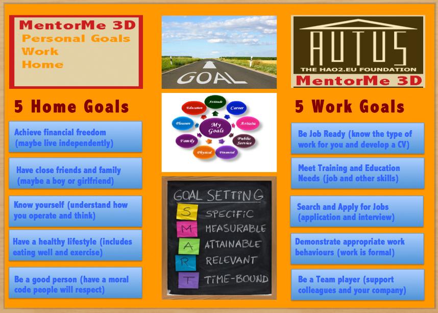 3. Personal Goals